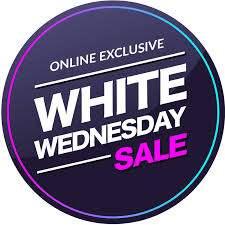 White Wednesday Sale 2020